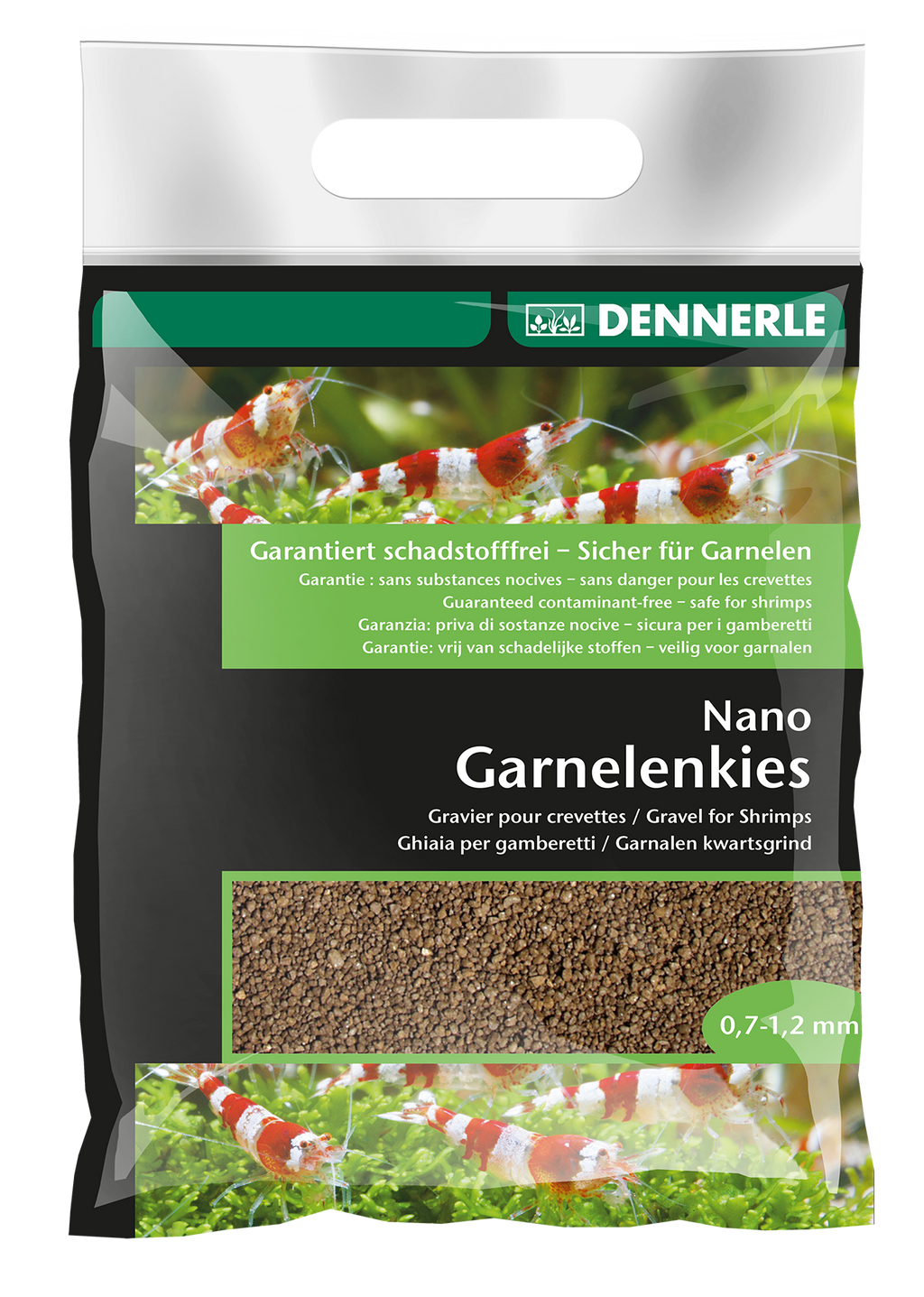 DENNERLE Nano Shrimp Gravel Bed (Different Color / 2KG)