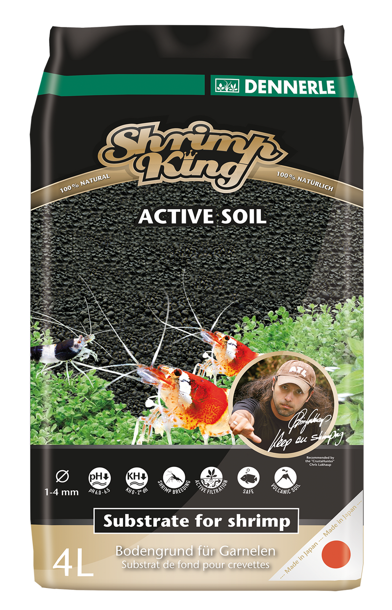 DENNERLE Shrimp King Active Soil (4L)
