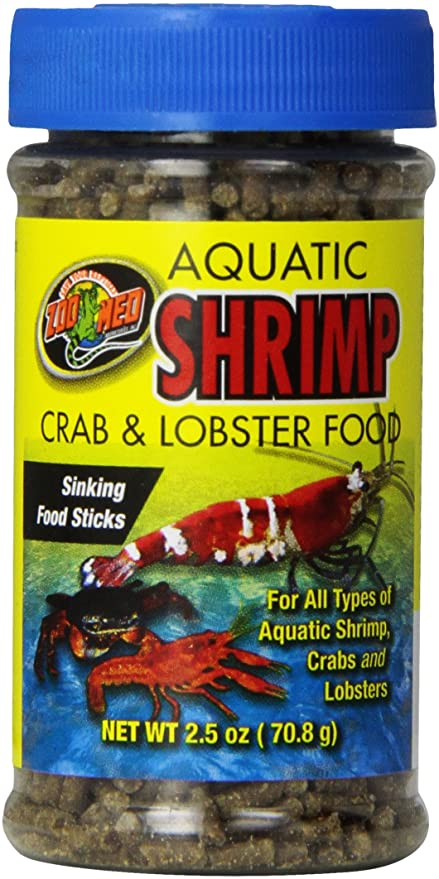 ZOO MED Aquatic Shrimp, Crab & Crayfish food (70g)