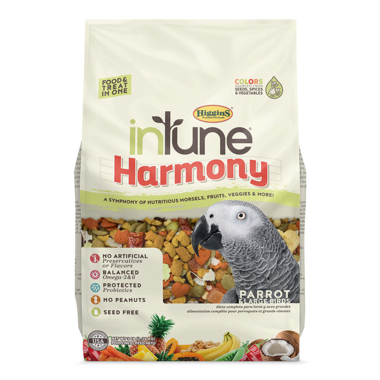 HIGGINS InTune® Harmony Parrot (3lb)