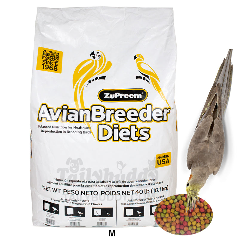 ZUPREEM AvianBreeder™ FruitBlend® Flavor with Natural Flavors (Cockatiels / 18.14KG)