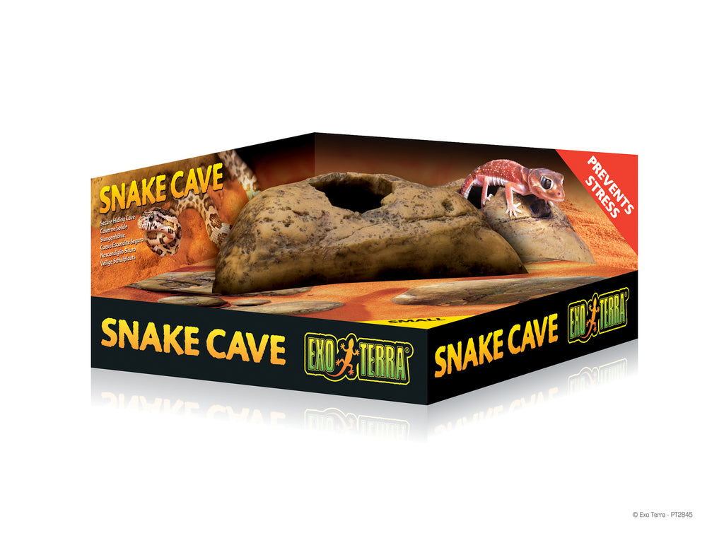 EXOTERRA Snake Cave (L / 250 x 190 x 120mm)