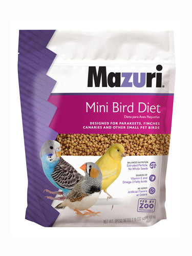 Mazuri® Mini Bird Diet (562A)
