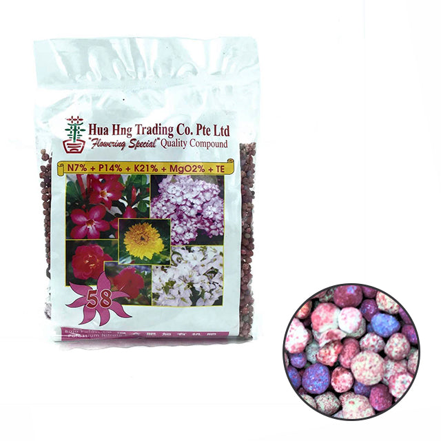 HUA HNG NPK 58 (Flower Special Fertiliser / 400g)