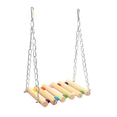 FIDS-PLAY SWING LADDER (Wood)
