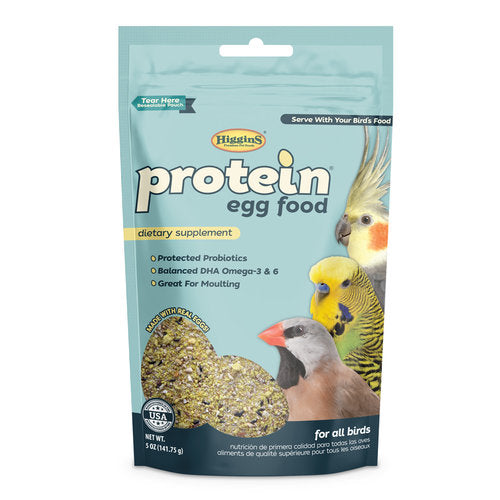 HIGGINS Protein Eggfood (5oz)