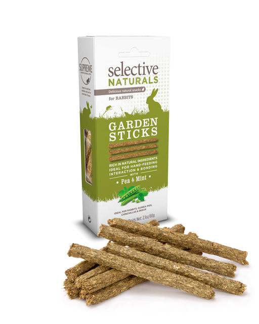 SUPREME Selective Naturals Garden Sticks (Pea / Mint / 60g)