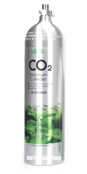 ISTA CO2 Aluminium Cylinder (Top / 1/2/3L)