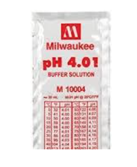 MILWAUKEE Calibration Buffer Solution (M10010B / 25 pcs)
