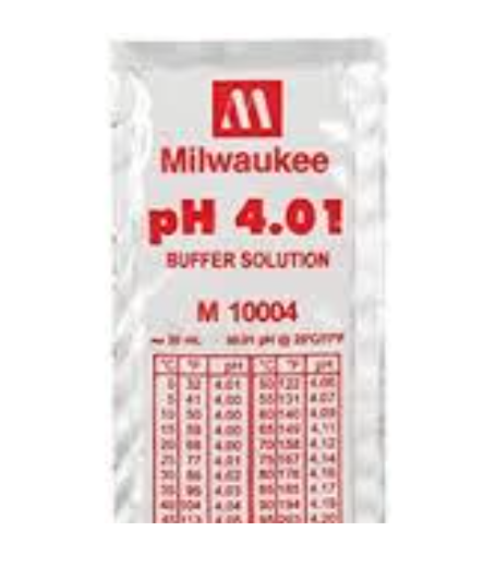 MILWAUKEE Calibration Buffer Solution (M10004B / 25 pcs)