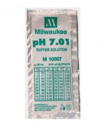MILWAUKEE Calibration Buffer Solution (M10007B / 25 pcs)