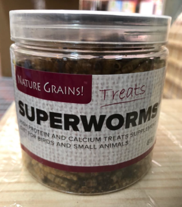 NATURE GRINS Dried Superworm (85g)