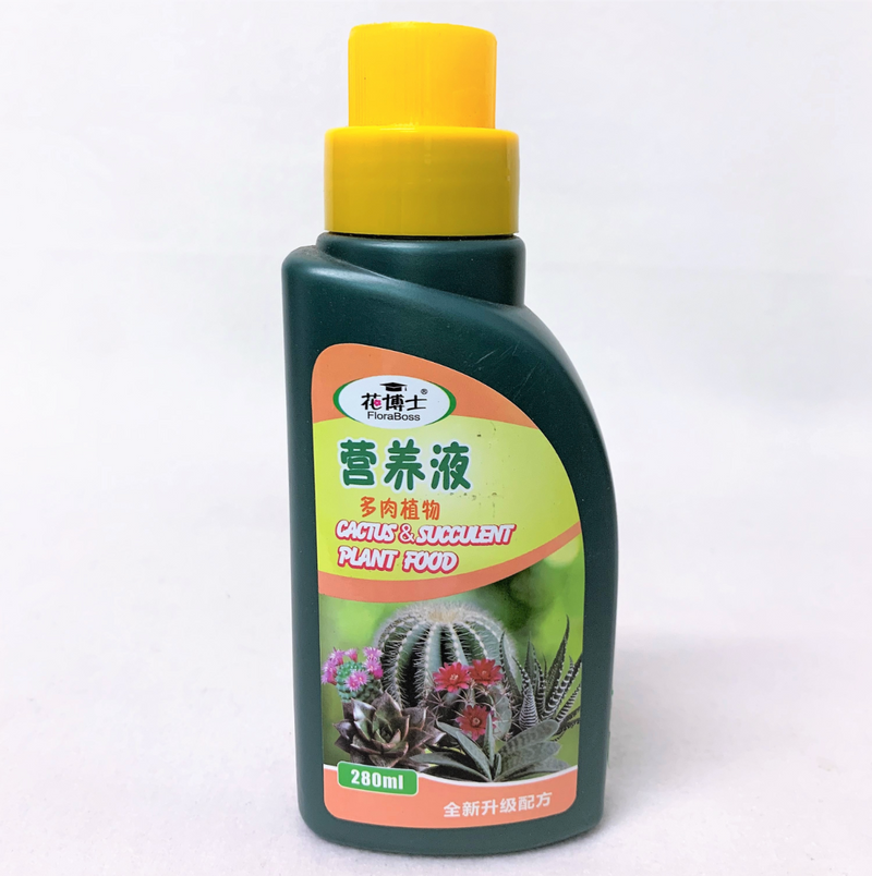 FLORABOSS Cactus And Succulent Plant Food (280ml)