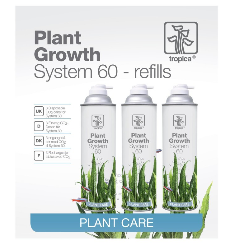 TROPICA CO2 System 60 refill