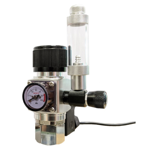 ANS PRO II CO2 Regulator Compact (Dual Stage with Soleniod)