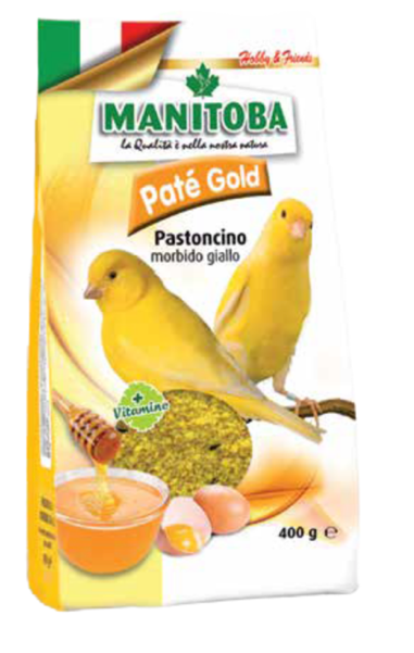 MANITOBA Pate Gold Egg Food (400g)