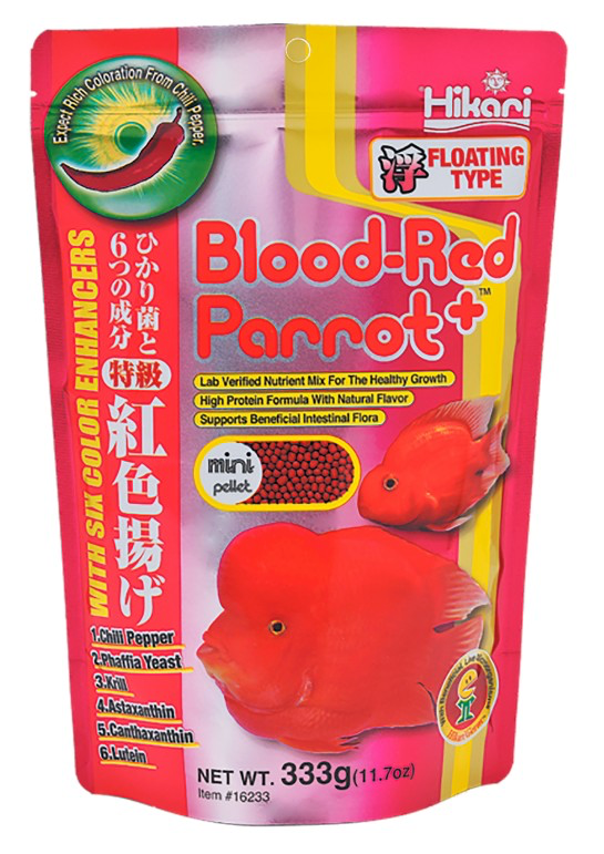 HIKARI Blood Red Parrot+ (Mini Pellet / 333g)