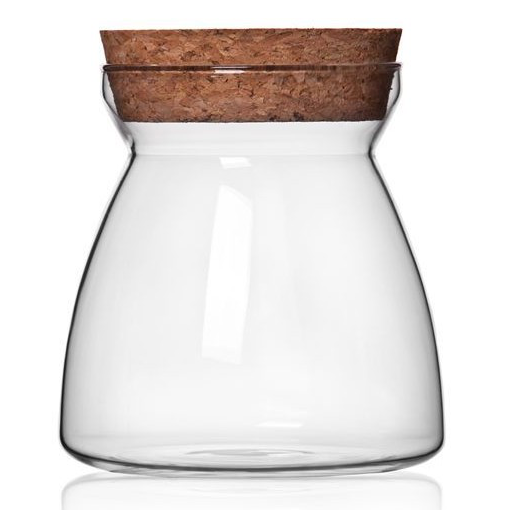 TERRA POTS Cork Jar Tappered (12cm)