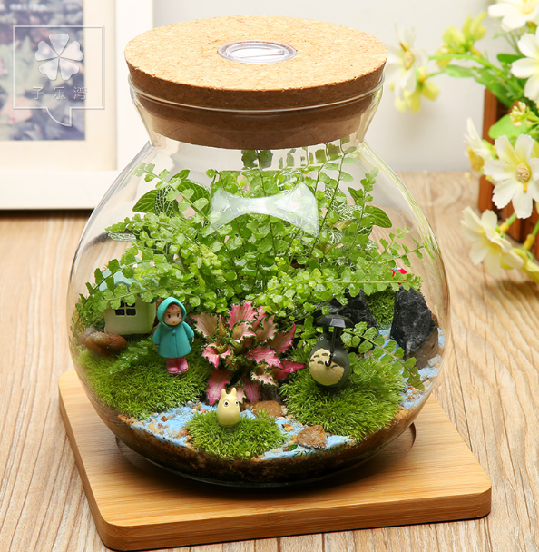 TERRA POTS Cork Jar LED (10cm)
