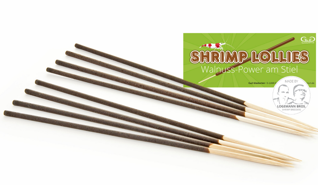 GLASGARTEN Shrimp Lollies - Walnut Power