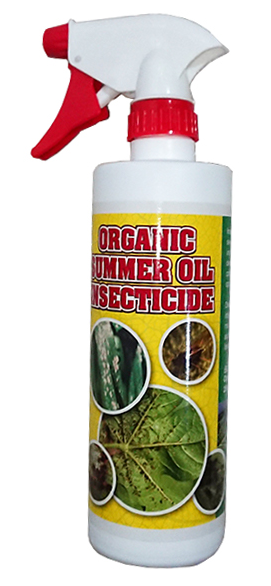 Organic Summer Oil Insecticide (500ml Spray Btl)