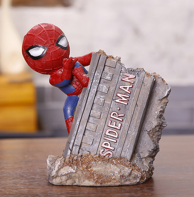 TERRA SUPERHERO Stationery Holder (Spider Man 1 / 10x13.5x7.5cm)