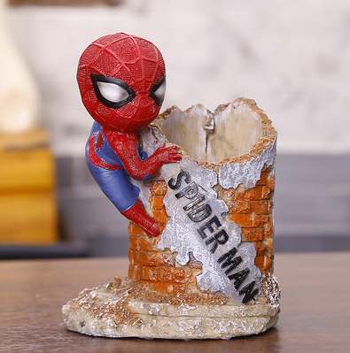 TERRA SUPERHERO Stationery Holder (Spider Man 2 / 10x13.5x7.5cm)