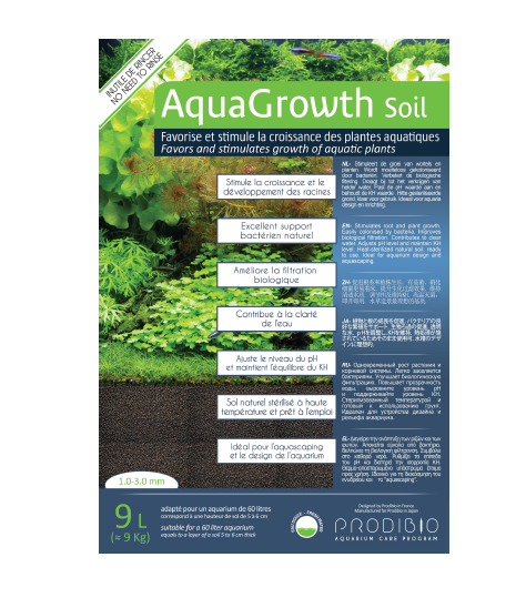 PRODIBIO Aqua Growth Soil (Normal / 9L)