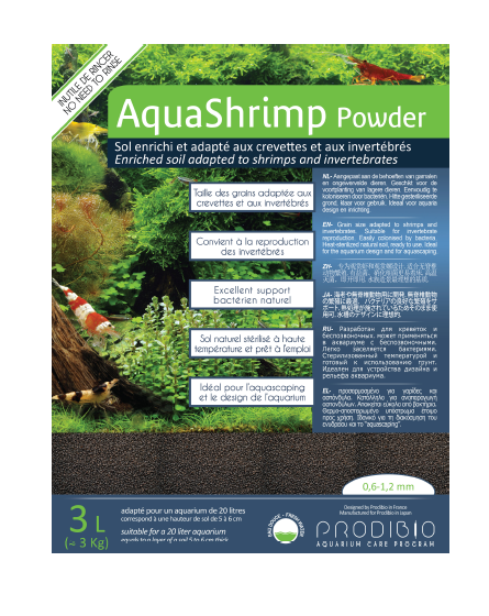 PRODIBIO Aqua Shrimp Powder Soil (3L)