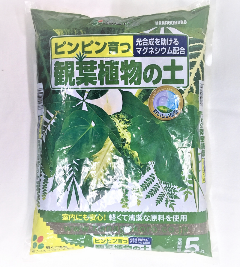 HANAGOKORO Soil for House Plants