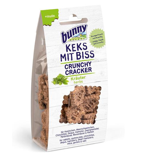 BUNNY NATURE Crunchy Crackers - Herbs (50g)