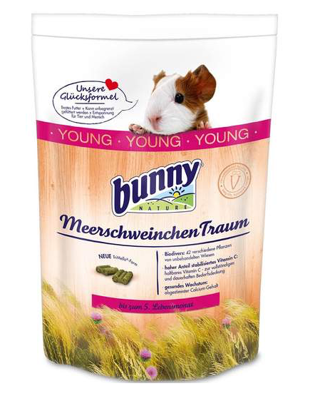 BUNNY NATURE Guinea Pig Dream YOUNG (750g)