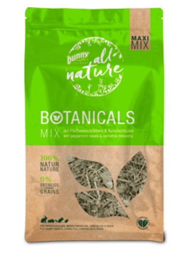 BUNNY NATURE Maxi Mix Peppermint Leaves & Camomile (450g)