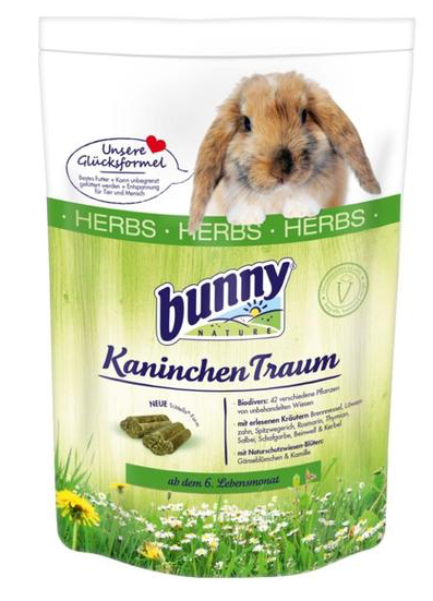 BUNNY Nature Rabbit Dream HERBS (750g)
