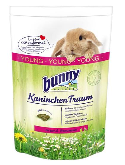 BUNNY Nature Rabbit Dream YOUNG (1.5Kg)