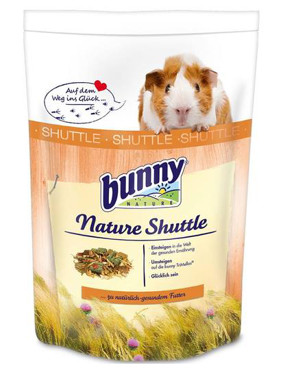 BUNNY NATURE Shuttle Guinea Pig (600g)