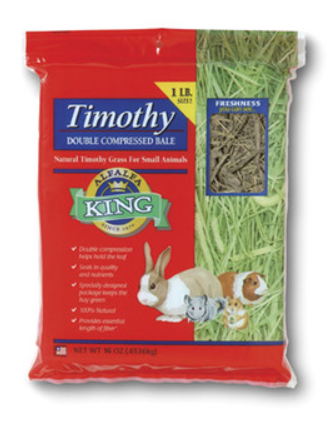 ALFALFA KING Timothy Hay (16oz)