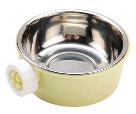 GCPETS Metal Food Bowl (Yellow)