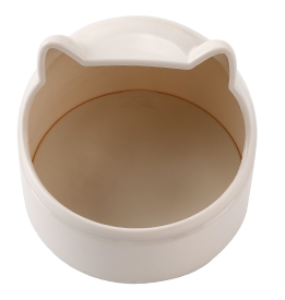 GCPETS Owl Food Bowl (White)