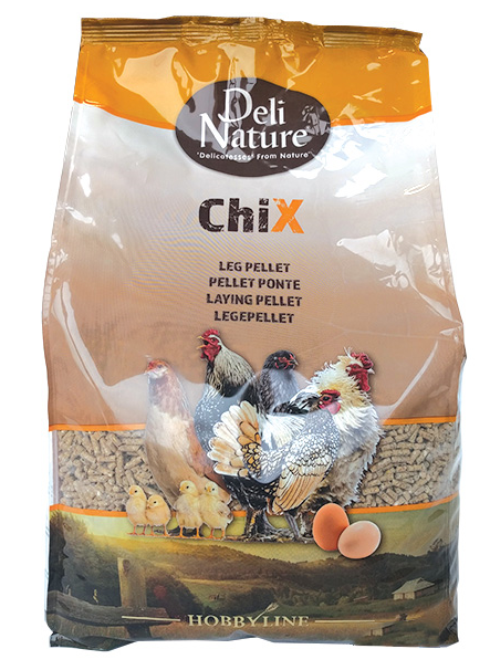 DELI NATURE ChiX Laying Pellet (4KG)