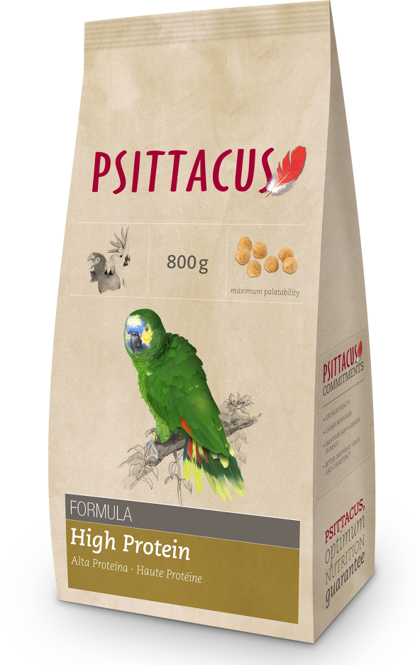 PSITTACUS Maintenance Feed (High Protein / 800g)