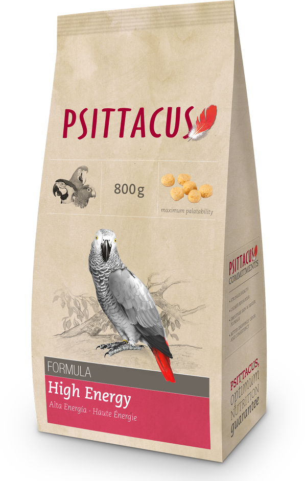 PSITTACUS Maintenance Feed (High Energy / 800g)