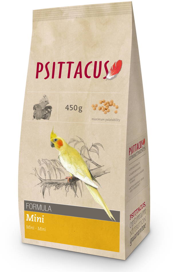 PSITTACUS Maintenance Mini (Cockatiel / 450g)