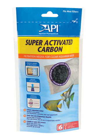 API Super Activated Carbon (6 pouch)