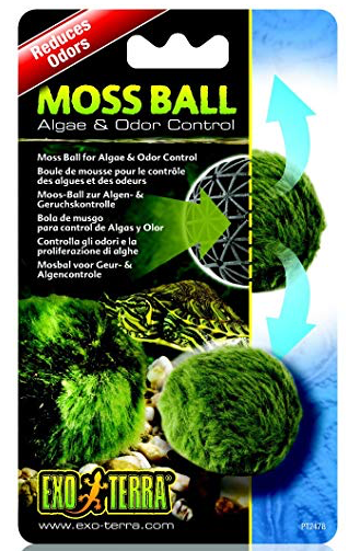 EXOTERRA Moss Ball (Clarity & Door Control / 4.5cm Dia)