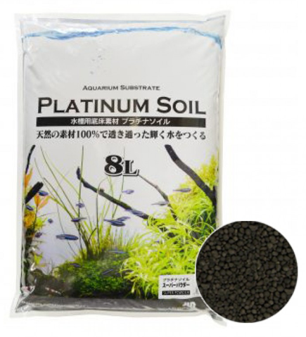 JUN Platinium Soil (Black Super Powder / 8L)
