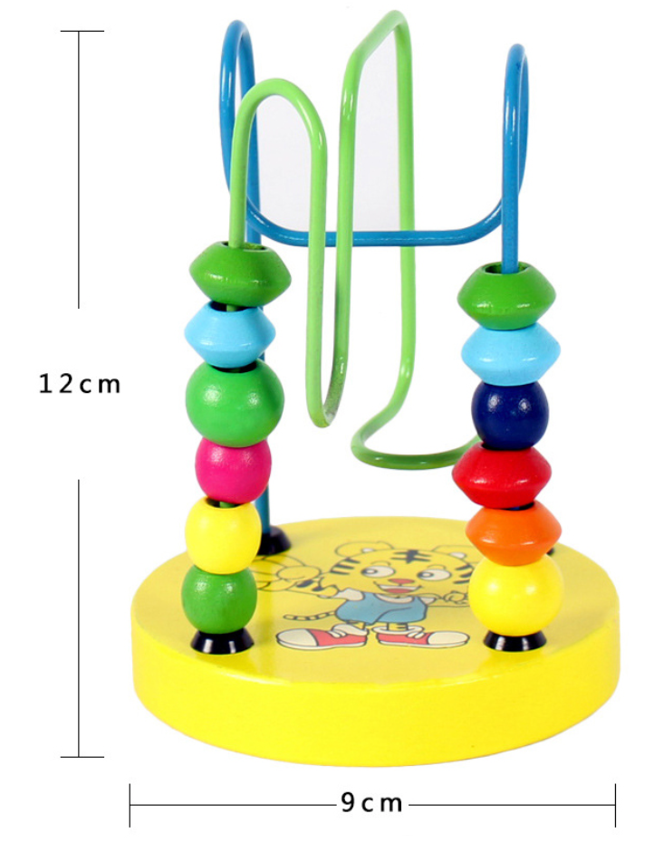 FIDS-PLAY TRAINING Beads Maze (S / 12x9cm / 4 Colours)