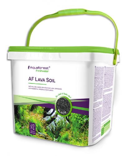AQUAFOREST Lava Soil (BLACK / 5L)