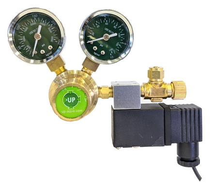 UP Aqua A100 Co2 Regulator with Soleniod