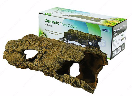 ISTA Ceramic Tree Cave (22x8x7cm)